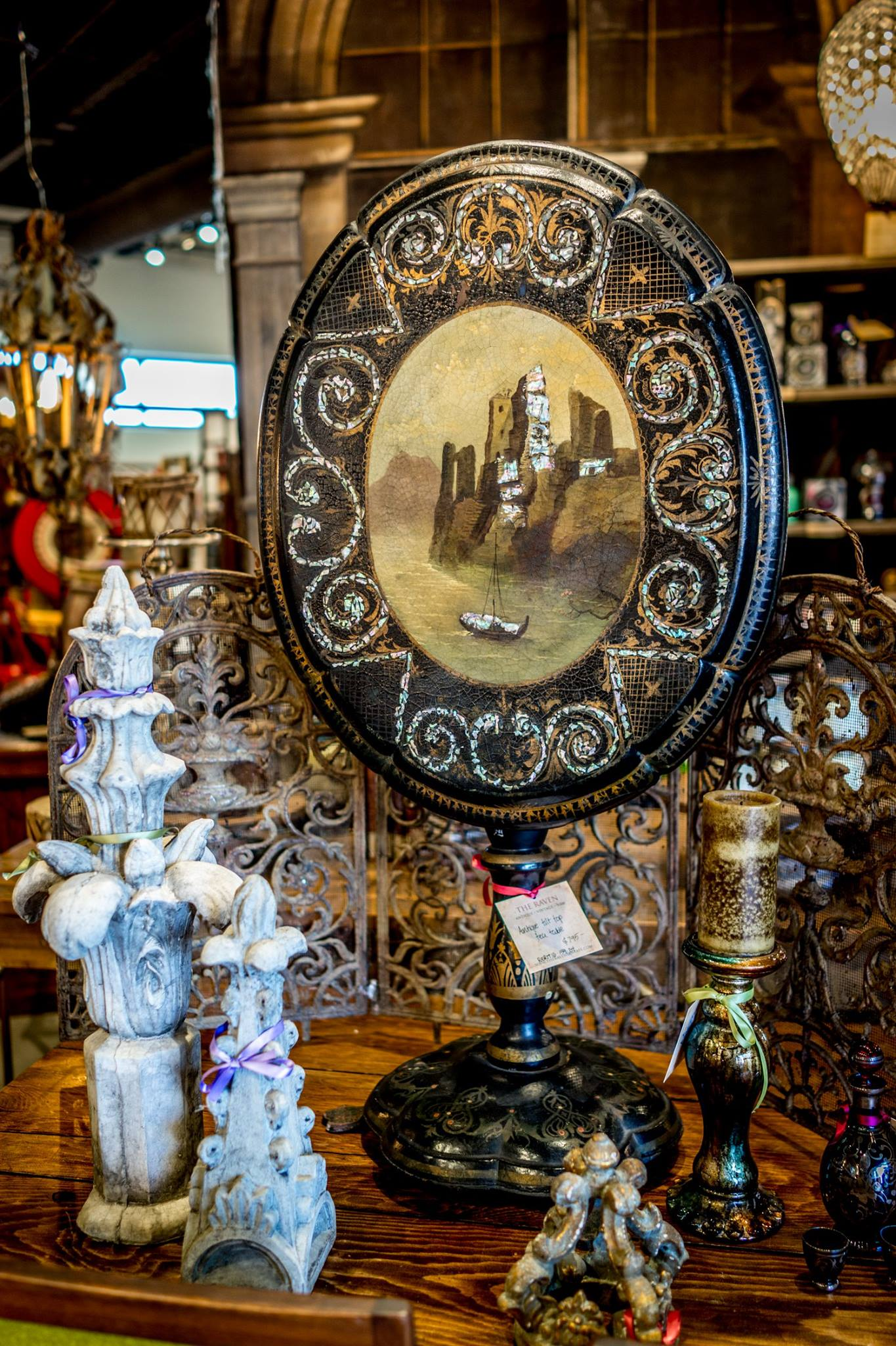 Furniture Antique Vintage New Consignment The Raven